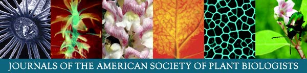 journals of the American Society of Plant Biologists
